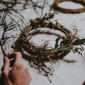 Natural Wreath Making with Eva Holmes Nov 2018